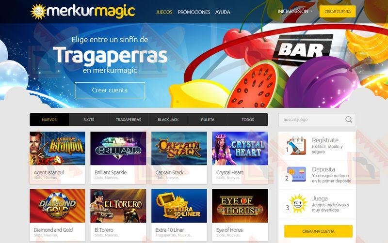Merkurmagic Casino Captura de Pantalla
