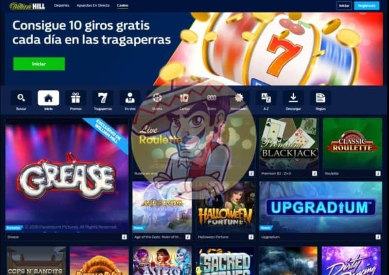 Captura William Hill Casino