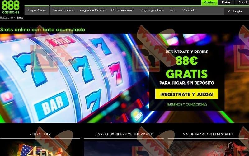 Screenshot 888 Casino