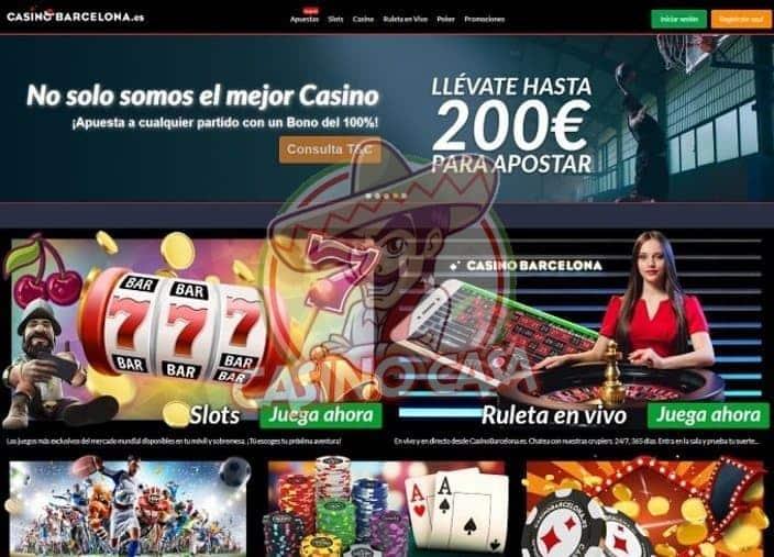 Captura de Pantalla Casino Barcelona