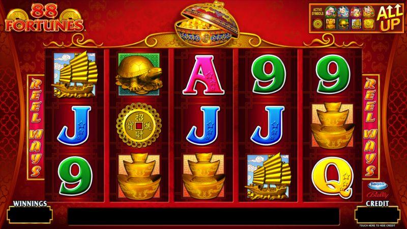 Jugar 88 fortunes sin descargar