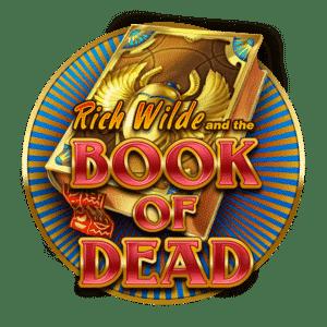 Simbolo de la Tragaperra Book of Dead que puede jugar en Casino Casa