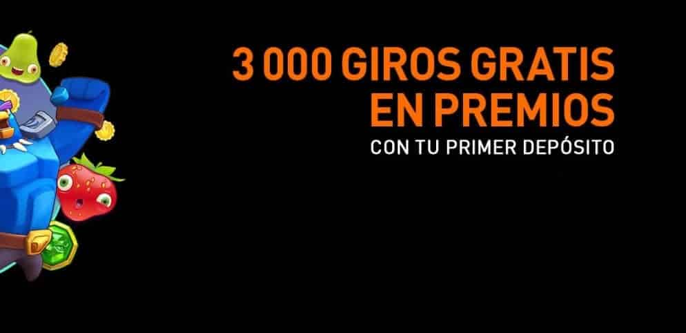 Gana 3.000 tiradas gratuitas en 777 Casino Online