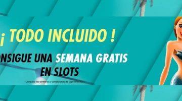 Promo slots de verano, todo incluido en Sportium Casino