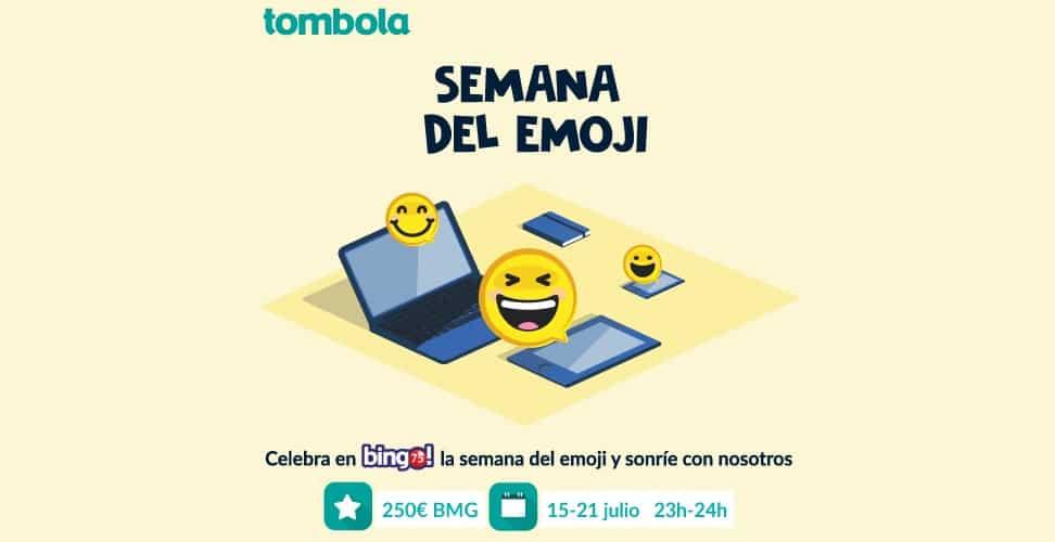 Descubre la Semana del emoji en Tombola Casino