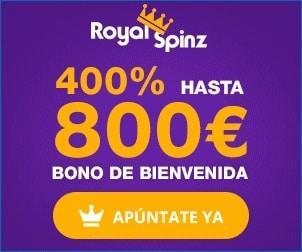 RoyalSpinz bonos