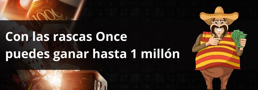 Con las rascas Once  puedes ganar hasta 1 millón