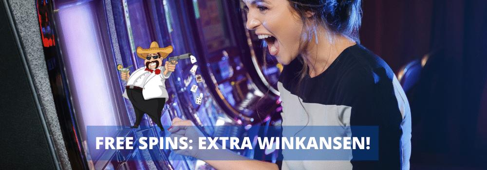 extra winkansen - free spins